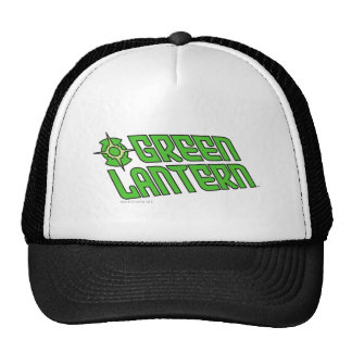 Green Lantern Logo Tilted Trucker Hat