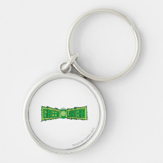 Green Lantern Logo with Lantern Keychain