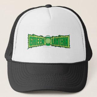 Green Lantern Logo with Lantern Trucker Hat