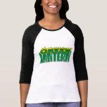 Green Lantern Logo - Yellow Flames Shirt