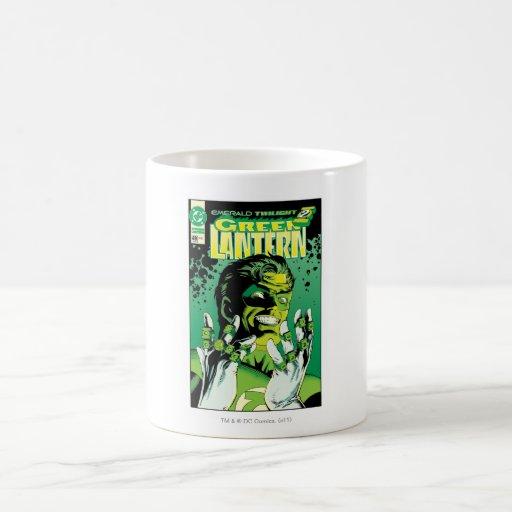 Green Lantern  - Many Rings Coffee Mug