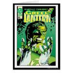 Green Lantern  - Many Rings Greeting Card