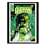 Green Lantern  - Many Rings Postcard