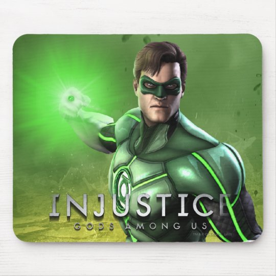Green Lantern Mouse Pad