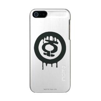 Green Lantern Paint Symbol Metallic Phone Case For iPhone SE/5/5s