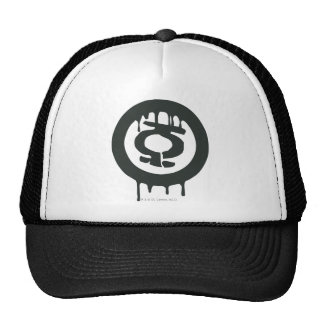 Green Lantern Paint Symbol Trucker Hat