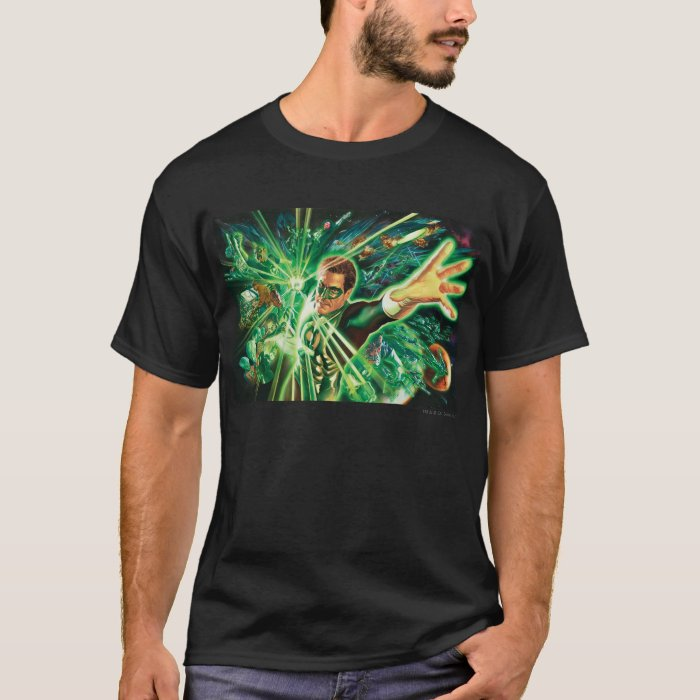 Green Lantern Painting T-Shirt