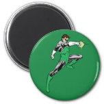 Green Lantern Pointing Ring 2 Inch Round Magnet