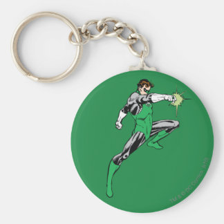 Green Lantern Pointing Ring Keychain