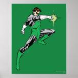 Green Lantern Pointing Ring Print