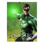 Green Lantern Postcard