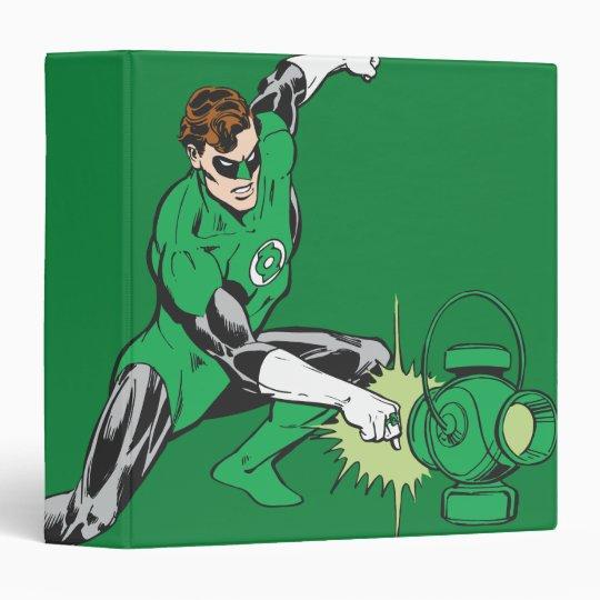 Green Lantern Power 3 Ring Binder