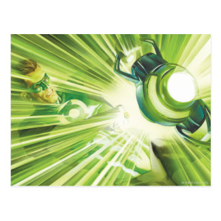 Green Lantern Power Postcard