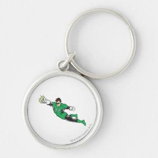 Green Lantern Punches Keychain