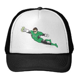 Green Lantern Punches Trucker Hat