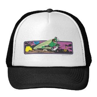 Green Lantern Races Thru Space Trucker Hats