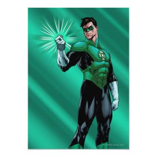 Green Lantern & Ring Card