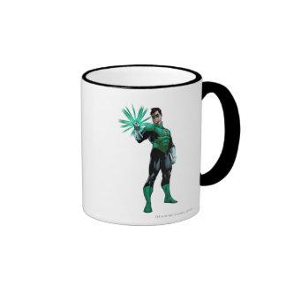 Green Lantern & Ring Ringer Coffee Mug
