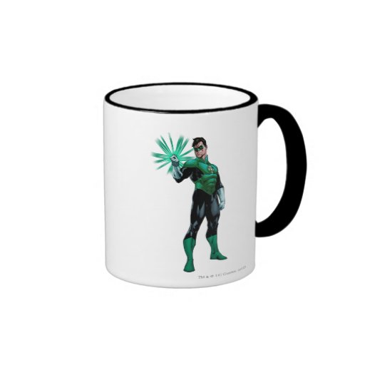 Green Lantern & Ring Mug