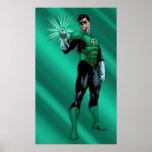 Green Lantern & Ring Print