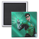 Green Lantern & Ring Refrigerator Magnets