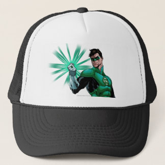 Green Lantern & Ring Trucker Hat