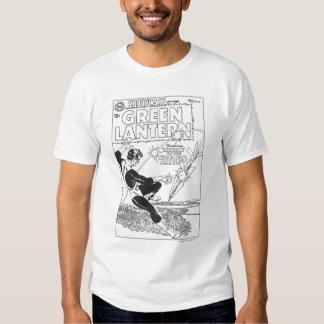 Green Lantern - Runaway Missile, Black and White T Shirt