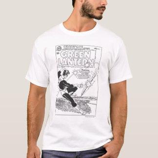 Green Lantern - Runaway Missile, Black and White T-Shirt