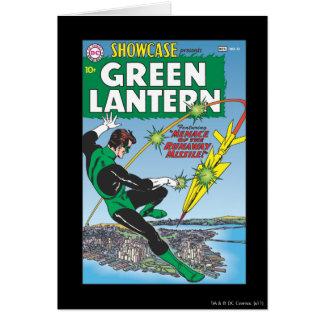 Green Lantern - Runaway Missile Greeting Card