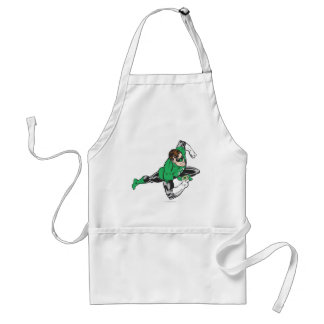 Green Lantern Runs Adult Apron