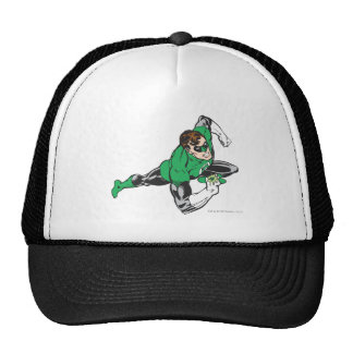 Green Lantern Runs Trucker Hat