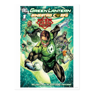 Green Lantern - Secret Files and Origins Cover Postcard