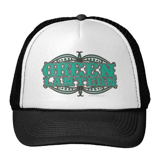 Green Lantern Showtime Letters Hats