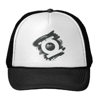Green Lantern Spray Symbol Trucker Hats