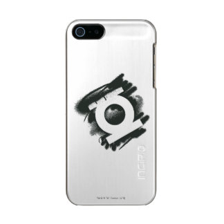 Green Lantern Spray Symbol Metallic Phone Case For iPhone SE/5/5s