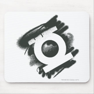 Green Lantern Spray Symbol Mouse Pad