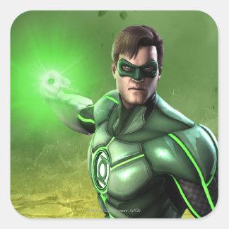 Green Lantern Square Sticker