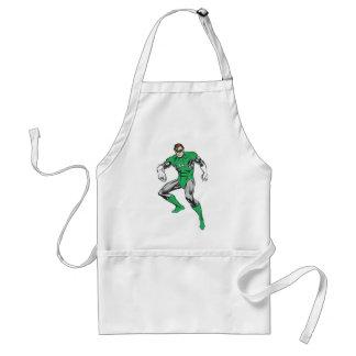 Green Lantern Squats Adult Apron