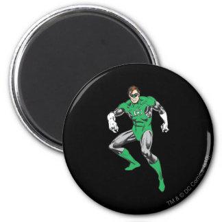 Green Lantern Squats 2 Inch Round Magnet