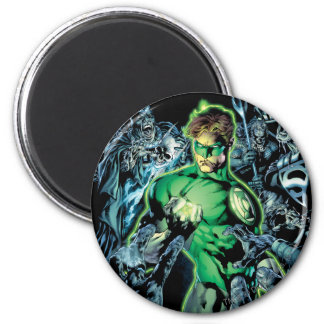 Green Lantern Surrounded - Color Magnet