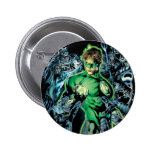 Green Lantern Surrounded - Color Pinback Button