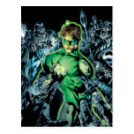 Green Lantern Surrounded - Color Postcards