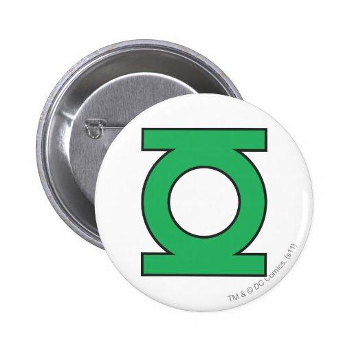Green Lantern Symbol 2 Inch Round Button