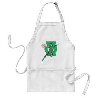 Green Lantern & Symbol Adult Apron