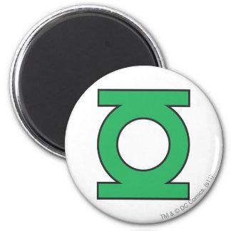 Green Lantern Symbol 2 Inch Round Magnet