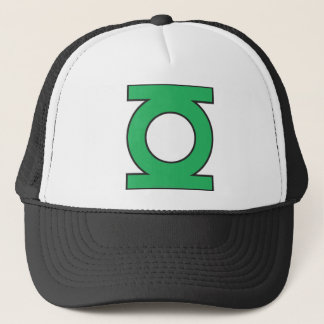 Green Lantern Symbol Trucker Hat