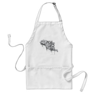 Green Lantern - Twisted Innocence BW Adult Apron