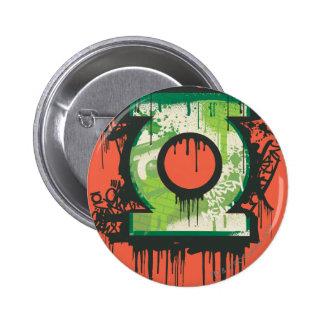 Green Lantern - Twisted Innocence Symbol Pinback Button
