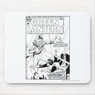 Green Lantern vs Clown, Black and White Mouse Pad