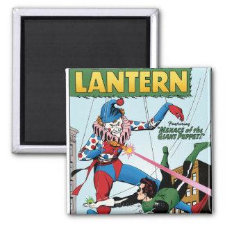 Green Lantern vs Clown Magnet